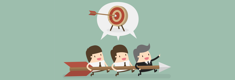 Target, eps 10 vector illustration