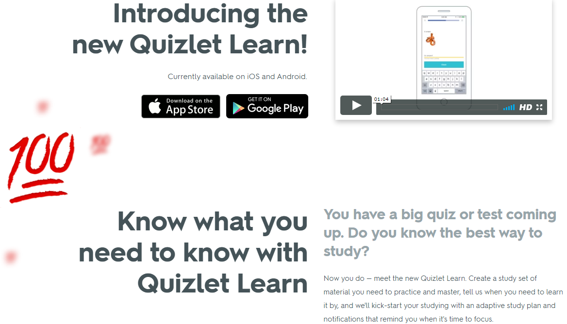 Online Learning With Quizlet Educational Platform