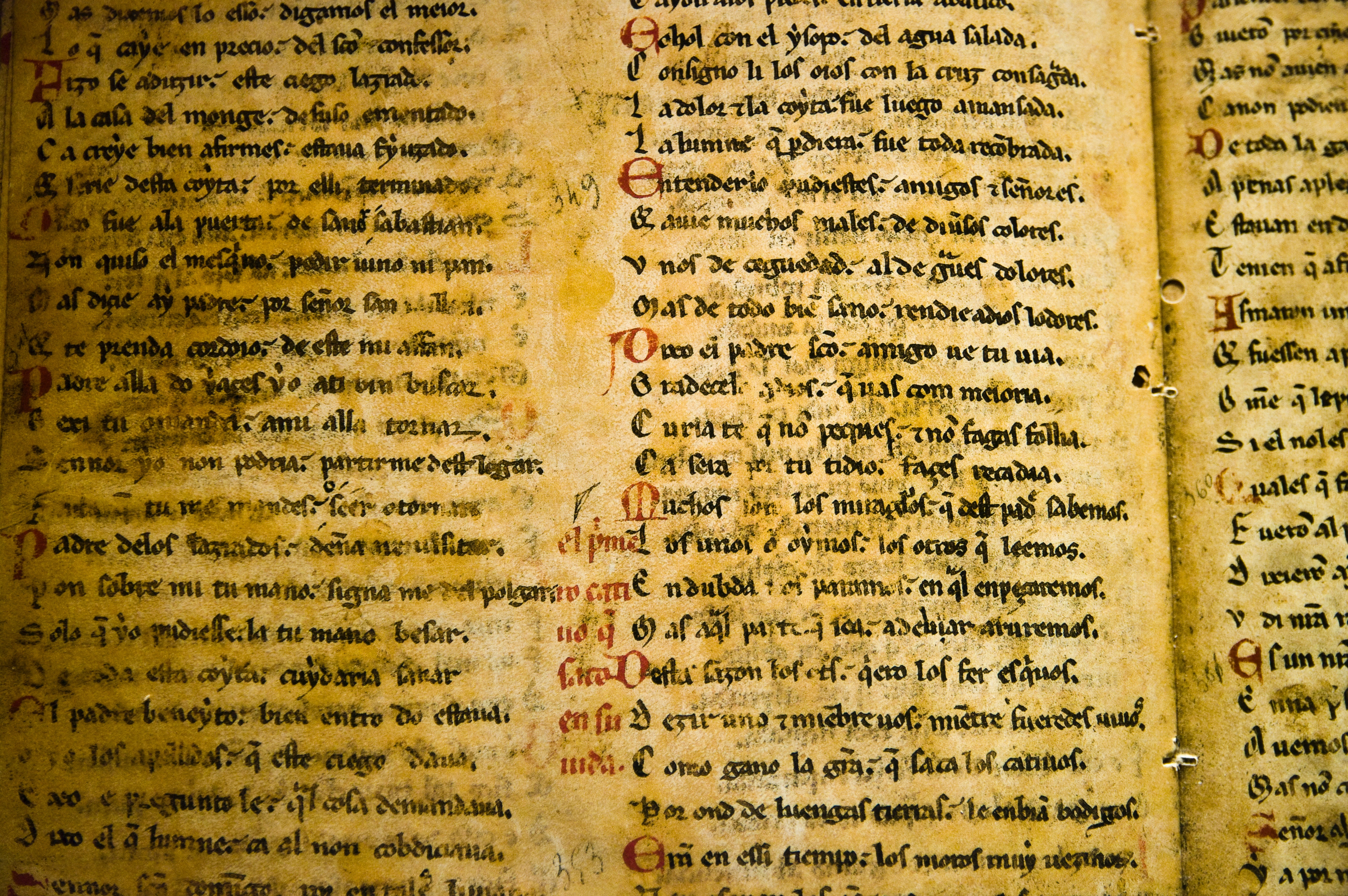 medieval writing